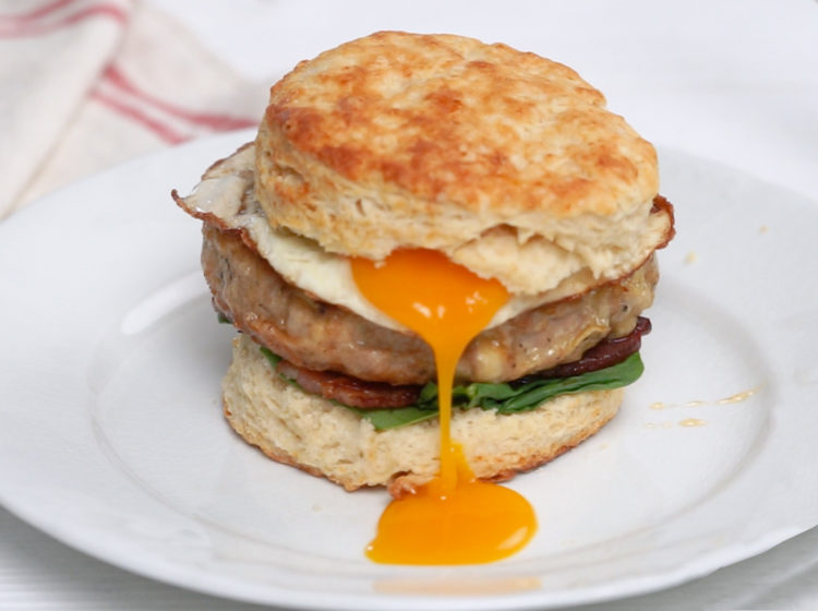 Apple Gouda Breakfast Sandwich