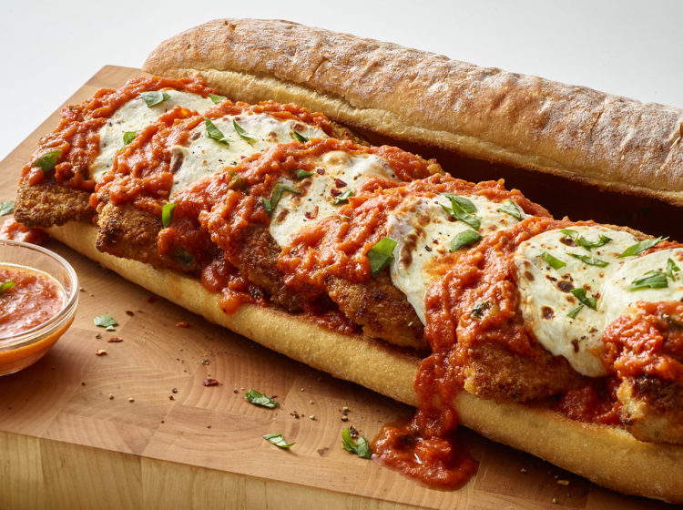 Chicken Parmesan Party Sandwich