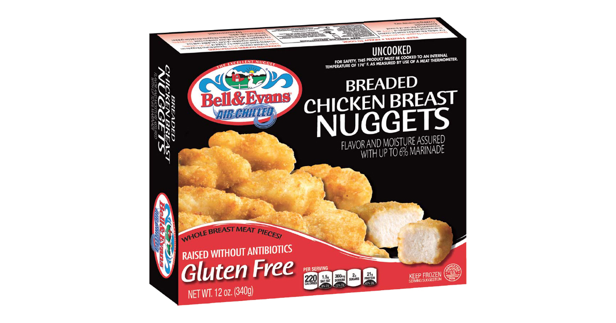 Breaded Chicken Nuggets Bell Evans