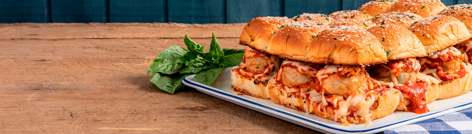 Chicken Meatball Party Sliders