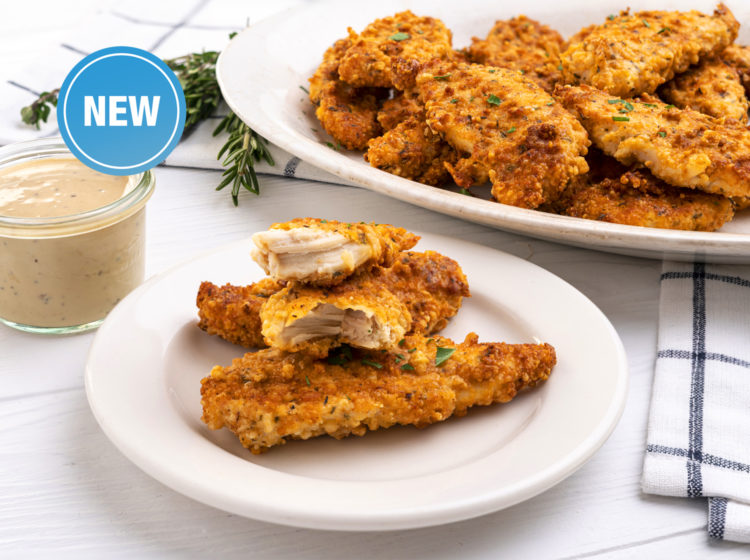 Low-Carb Parmesan Chicken Tenders (Air Fryer)