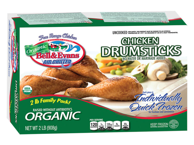 Individually Quick Frozen Organic Drumsticks