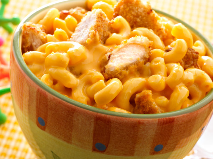 Macaroni & Cheese Chicken Nuggets