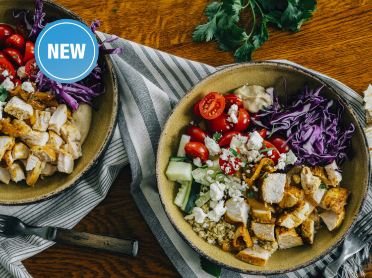 Middle Eastern Chicken Schawarma Bowl