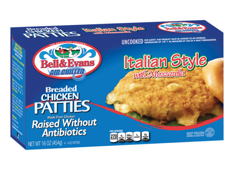 Breaded Chicken Patties Bell Amp Evans