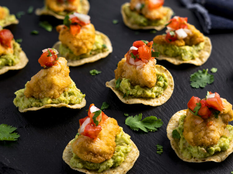 Chicken Nugget Tostadas