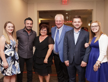 The Sechler Family with Fabio Viviani