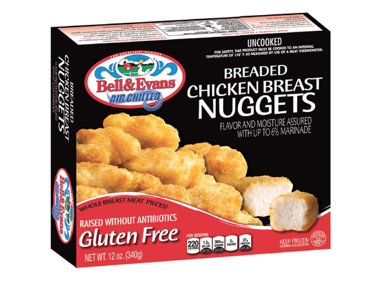 Bell & Evans Gluten Free Breaded Chicken Nuggets