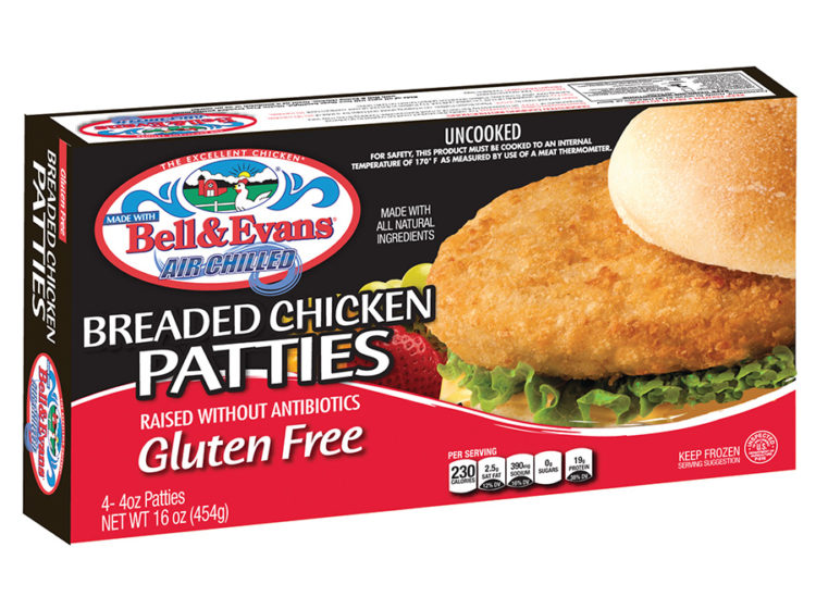 Gluten Free Breaded Chicken Patties