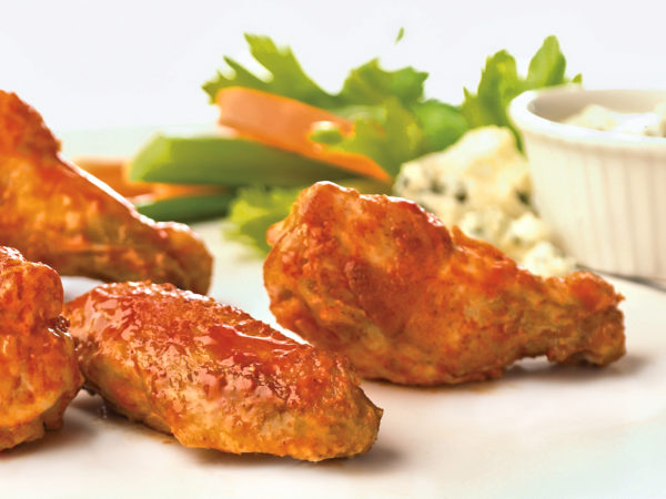 Crispy Oven Baked Buffalo Wings